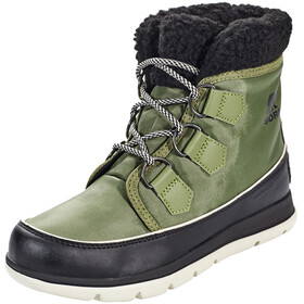 Sorel W's Explorer Carnival Boots Hiker Green/Black